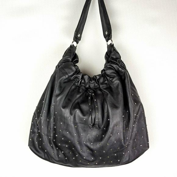 dba0cef45c10 Steve Madden Studded Bohemian Hobo Shoulder Bag. M 5aff30ee31a376961623dd48